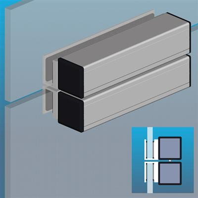 Compact Shearlock Door Magnet EMS1200