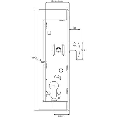 Europrofile Deadlock 52220 Series