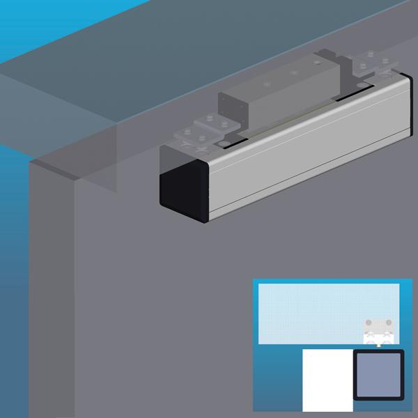 Compact Shearlock Door Magnet on
